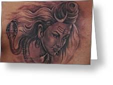 Shiva Mahadev Greeting Card