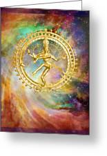 Shiva Nataraja - The Lord Of The Dance Greeting Card