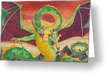 Shivan Dragon 3.0 Greeting Card