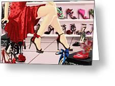 Shoe Biz Greeting Card