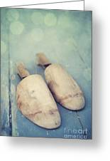 Shoe Trees Greeting Card by Priska Wettstein