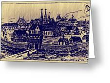 Shoenou Monastary Germany Greeting Card