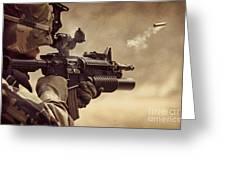 Shooter Greeting Card