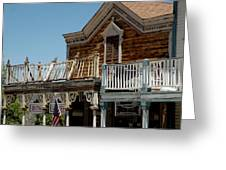 Shooting Gallery Virginia City Nv Greeting Card