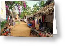 Shops In Madagascar Greeting Card