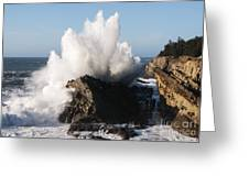 Shore Acres Waves 1 Greeting Card