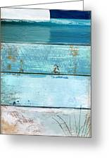 Shore And Moonrise Greeting Card