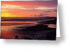 Shore Lines Greeting Card