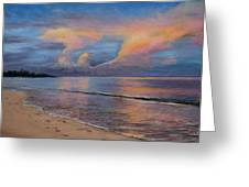 Shore Of Solitude Greeting Card