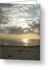 Shore Rays Greeting Card