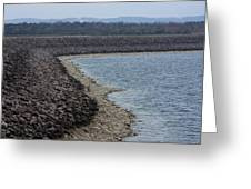 Shoreline At Table Rock Lake Greeting Card