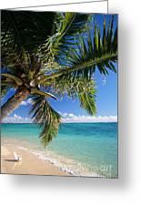 Shoreline Waters Greeting Card