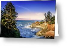 Shores Acres Cove Greeting Card