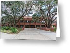 Shores Building At Florida State University Greeting Card