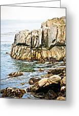 Shores Of Pebble Beach Greeting Card