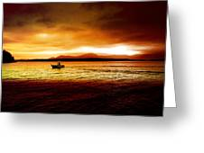 Shores Of The Soul Greeting Card
