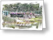 Shorey Park Bridge I Greeting Card