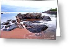 Short Rock Greeting Card