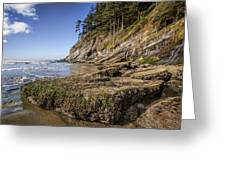 Short Sands Rocks Greeting Card