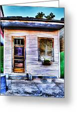 Shotgun House Number 3 Greeting Card