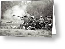 Shots Fired Civil War Greeting Card