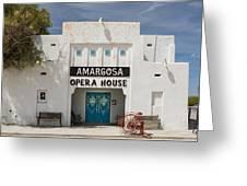Show Tonight Amargosa Opera House Greeting Card