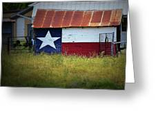 Showing Texas Pride Greeting Card