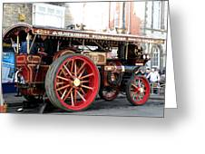 Showmans Engine Greeting Card