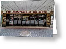 Showplace Greeting Card