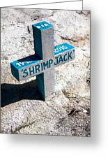 Shrimp Jack Greeting Card