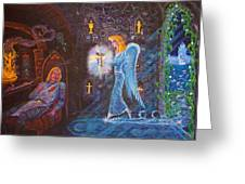 Shrine Of The Lost Flame Greeting Card