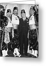 Shriner James Rolph Greeting Card