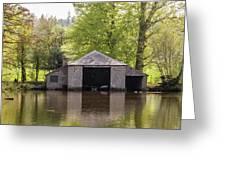 Shropshire Boathouse Greeting Card