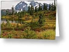 Shuksan Autumn Greeting Card