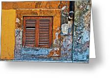 Shuttered Greeting Card