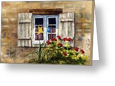 Shutters Greeting Card by Sam Sidders