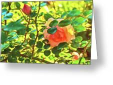 Sketchy Rose Greeting Card