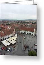 Sibiu Greeting Card