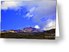 Sicily Mountain Top Greeting Card