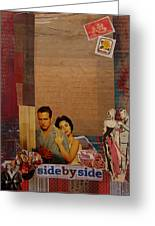 Side By Side Greeting Card by Adam Kissel