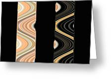 Side By Side Greeting Card