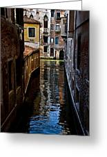 Side Canal Greeting Card