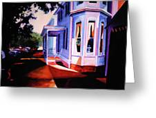 Side Street - Lambertville Greeting Card