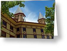 Side View Of The Great Auditorium Of Ocean Grove Nj Greeting Card