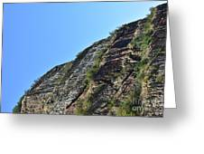 Sideling Hill Rock Greeting Card