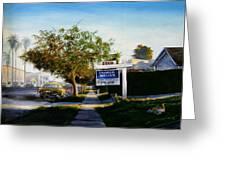 Sidewalk Sale Greeting Card