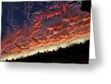 Sideways Sky Greeting Card