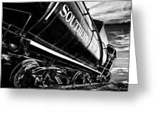 Sideways Train Greeting Card