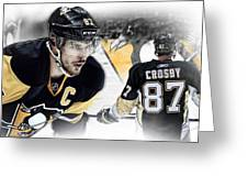 Sidney Crosby Artwork Greeting Card