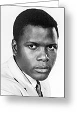 Sidney Poitier (1924-) Greeting Card